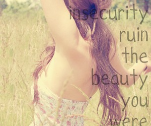 beauty, quote, and insecurity image