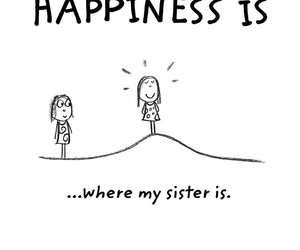 happiness and sisters image