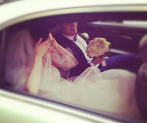 mariage, amour, and couple image