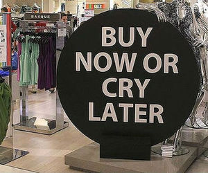 shopping, clothes, and buy image