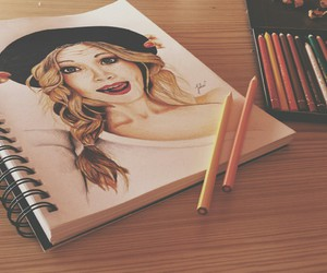 drawing and candice accola image