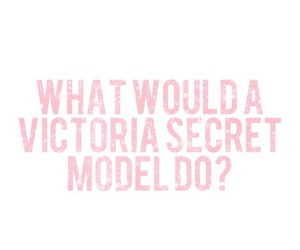 model, pink, and victoria secret image