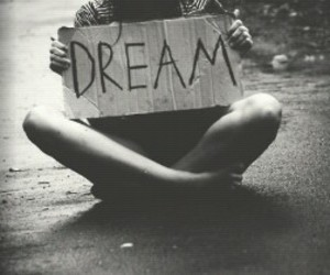 Dream and black and white image