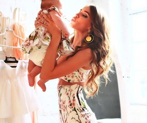 baby, love, and fashion image