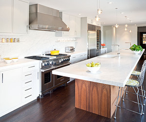 kitchen, white color, and neutral color image