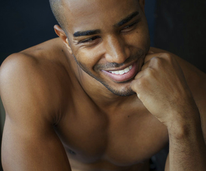 man, smile, and sexy image