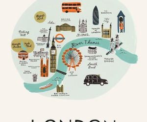 london and map image