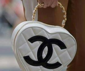 bag, chanel, and heart image
