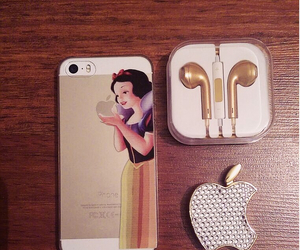 apple, fashion, and gold image