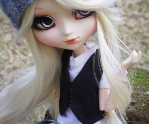 blonde, custom, and doll image