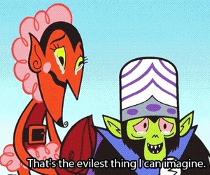 evil, powerpuff girls, and mojo jojo image