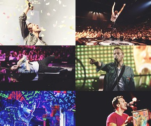 Chris Martin and coldplay image