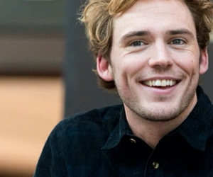 smile, sam claflin, and the hunger games image