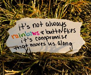 quote, rainbow, and maroon 5 image