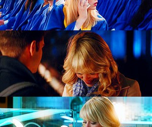 blonde, gwen stacy, and choices image