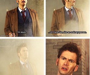 david, doctor who, and tennant image