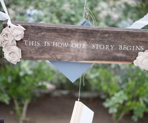 love, story, and text image