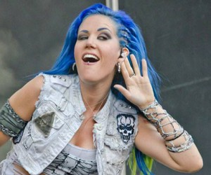 blue hair, vegan, and arch enemy image
