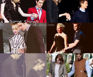 emma stone, in love, and protective image