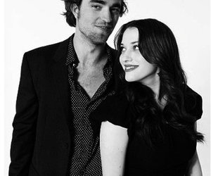 Kat Dennings and robert pattinson image