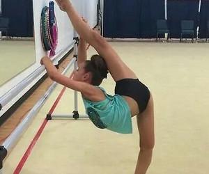 beauty, dancer, and gymnastic image