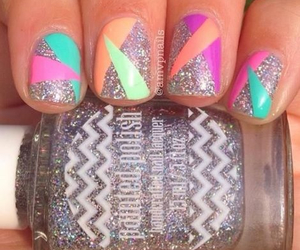 glitter, nails, and nice image