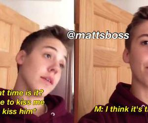 funny, sweet, and magcon image