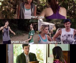 pll, pretty little liars, and ezria image