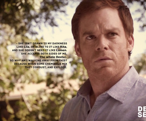 dexter morgan, michael c hall, and quotes image