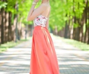 cool, dress, and pink image