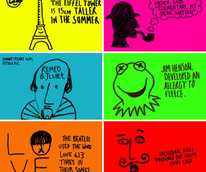love, eiffel tower, and shakespeare image