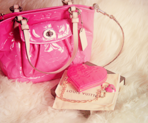 bags, pink, and cute image