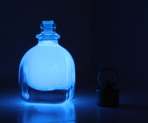 blue, bottle, and photo image