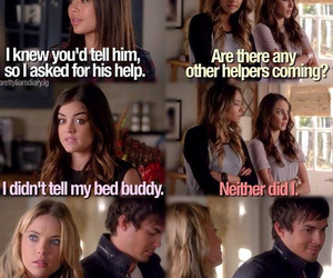 pretty little liars, caleb, and mona image