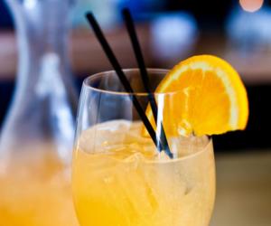 drink, orange, and summer image