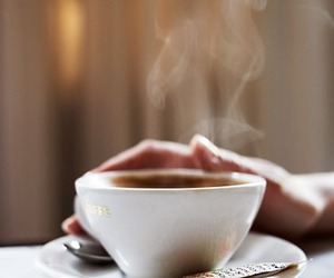 coffee, cafe, and Hot image