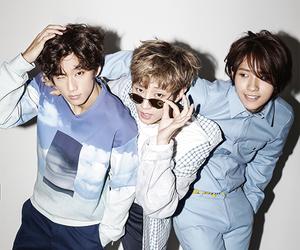 b1a4, jinyoung, and cnu image
