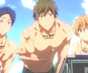 free!, anime, and free image