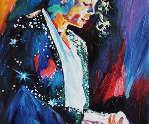 art, etsy, and michael jackson image