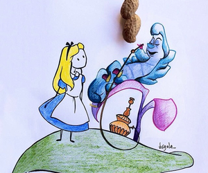alice in wonderland, virgola, and alice image