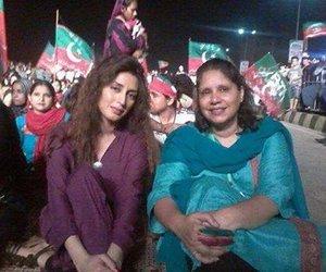 pakistani celebrities, pakistani actresses, and azadi march image