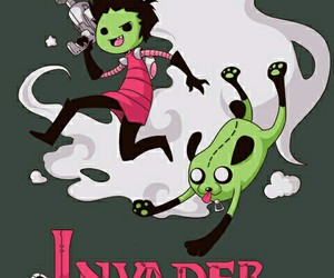 Invader Zim and adventure time image