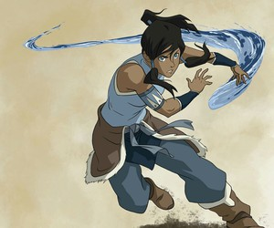 avatar, legend of korra, and water bending image