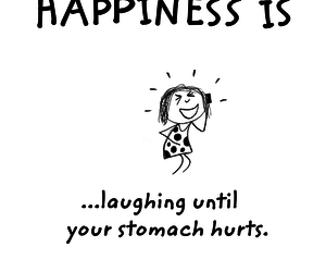 happiness, laugh, and quote image