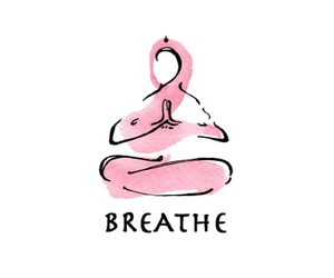 breathe and yoga image