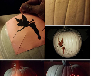 diy, Halloween, and pumpkin image