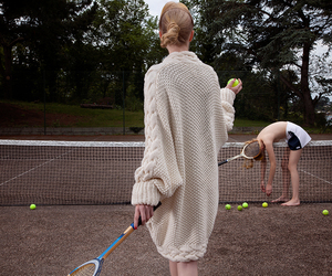 fashion, tennis, and models image