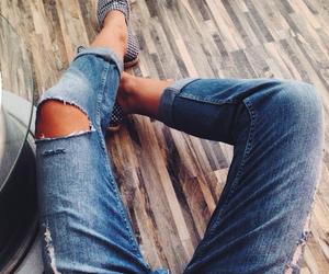 boyfriend and jeans image