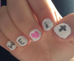fun, nails, and we heart it image