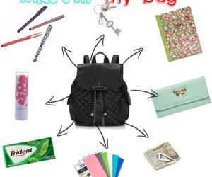 bag, diary, and money image